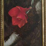 Cuadro óleo - Dendrobium cuthbertsonii - Nathalie Guichard